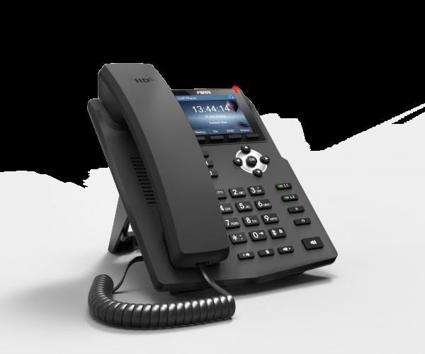 4 1 Fanvil X3G Gigabit POE HD Voice IP Phone