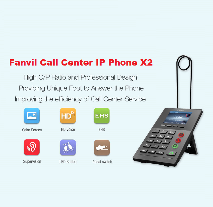 Fanvil Introduces new Call Centre IP Phone X2